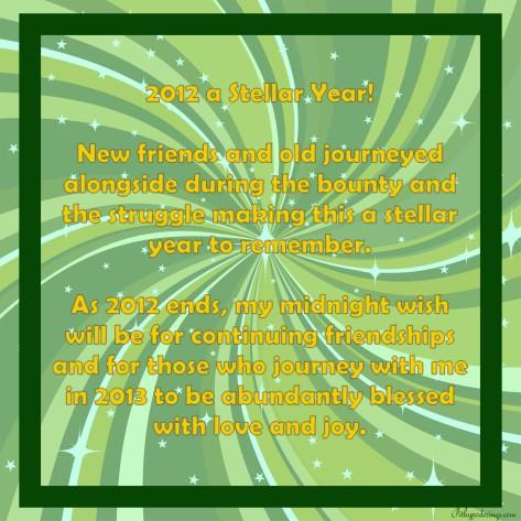 2012 Stellar Year
