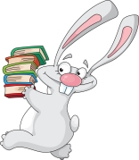 rabbit_and_books